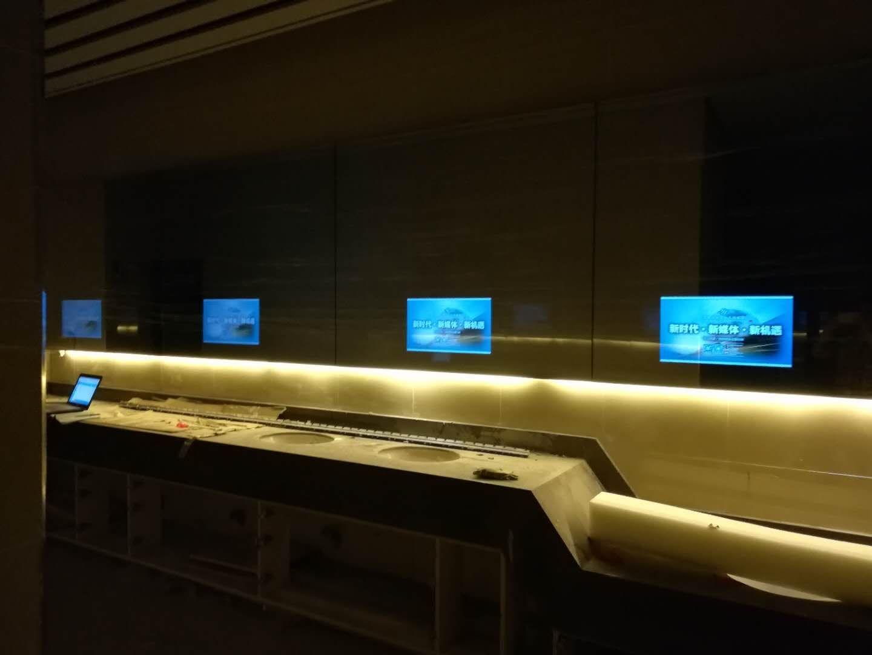 [北京拼接屏]北京海淀区用友展览馆在华融电子采购1套镜面拼接屏